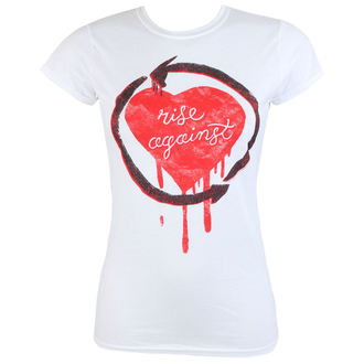 tricou stil metal femei Rise Against - Rough Heart - PLASTIC HEAD, PLASTIC HEAD, Rise Against