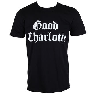 tricou stil metal bărbați Good Charlotte - White Puff Logo - PLASTIC HEAD, PLASTIC HEAD, Good Charlotte