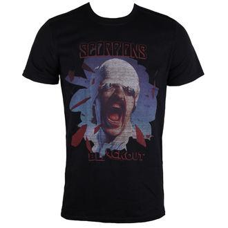 tricou stil metal bărbați Scorpions - Black Out - PLASTIC HEAD, PLASTIC HEAD, Scorpions