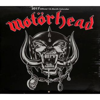 Calendar pentru 2017 Motörhead, Motörhead