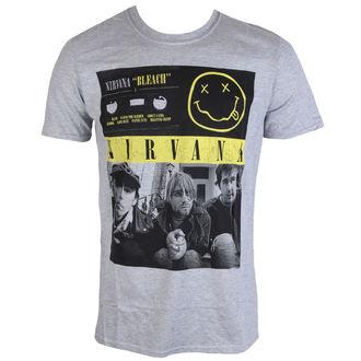 tricou stil metal bărbați Nirvana - Bleach Tape Photo - PLASTIC HEAD, PLASTIC HEAD, Nirvana