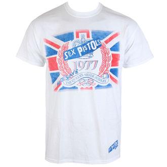 tricou stil metal bărbați Sex Pistols - Silver Jubilee - PLASTIC HEAD