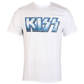 tricou stil metal bărbați Kiss - METAL DISTRESSED LOGO - AMPLIFIED, AMPLIFIED, Kiss