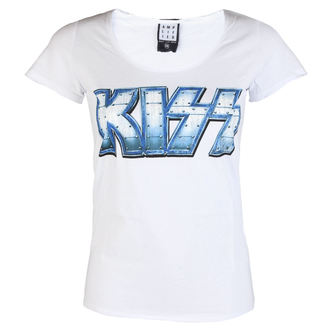 tricou stil metal femei Kiss - METAL DISTRESSED - AMPLIFIED, AMPLIFIED, Kiss