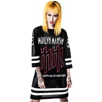 tricou femei Marilyn Manson - Use Your Fist Hockey Team - KILLSTAR, KILLSTAR, Marilyn Manson