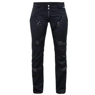 Pantaloni femei QUEEN OF DARKNESS - Black, QUEEN OF DARKNESS