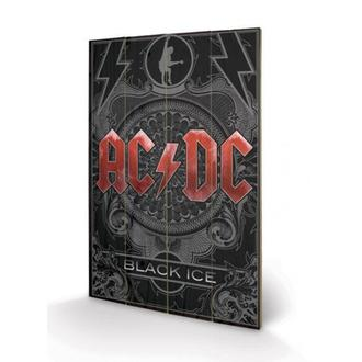 Imagine pe lemn AC / DC - Black Ice, PYRAMID POSTERS, AC-DC