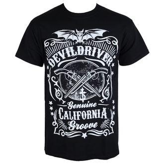 tricou stil metal bărbați Devildriver - CALIFORNIA GROOVE - RAZAMATAZ, RAZAMATAZ, Devildriver