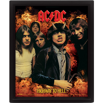 Imagine 3D AC / DC - Highway to Hell, PYRAMID POSTERS, AC-DC