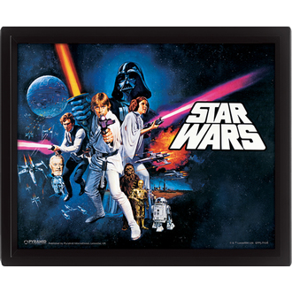 Imagine 3D Star Wars - A New Hope, PYRAMID POSTERS