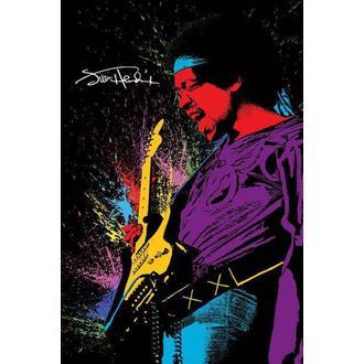Poster Jimi Hendrix - Paint, PYRAMID POSTERS, Jimi Hendrix
