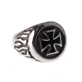Inel ETNOX - Black Iron Cross - SR1140
