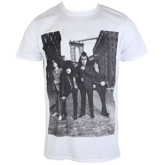tricou stil metal bărbați Kiss - B&W CITY - LIVE NATION, LIVE NATION, Kiss