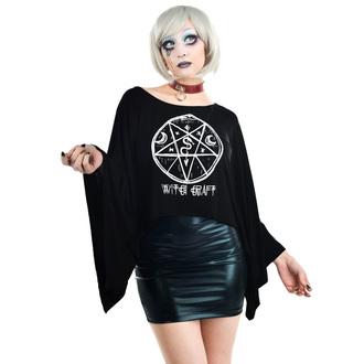tricou stil gotic și punk femei - COVEN CAPE - TOO FAST