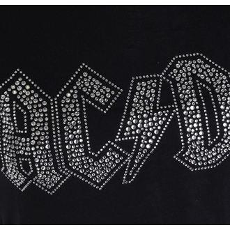 tricou stil metal femei AC-DC - Logo - ROCK OFF, ROCK OFF, AC-DC