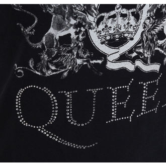 tricou stil metal femei Queen - Logo - ROCK OFF, ROCK OFF, Queen