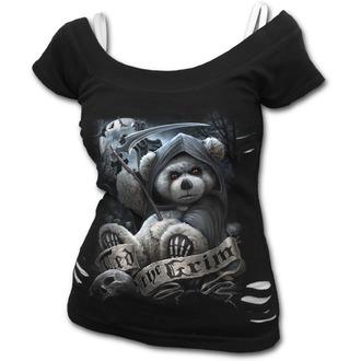 tricou femei - TED THE GRIM - SPIRAL - F033F710