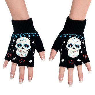 Mănuși fără degete TOO FAST - Sugar Skul, TOO FAST