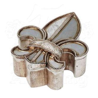 Decoraţiune (cutie de bijuterii ALCHEMY GOTHIC - Fleur De Lys, ALCHEMY GOTHIC