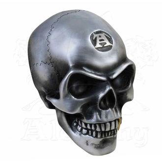 Decoraţiune (craniu) ALCHEMY GOTHIC - Metalised Alchemist Skull, ALCHEMY GOTHIC