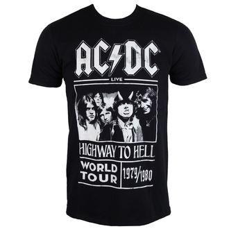 Ticou bărbați AC / DC - Highway To Hell - World Tour 1979/80 - Black - ROCK OFF, ROCK OFF, AC-DC