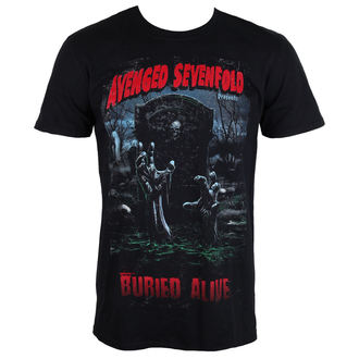 tricou stil metal bărbați Avenged Sevenfold - Buried Alive Tour 2012 - ROCK OFF, ROCK OFF, Avenged Sevenfold