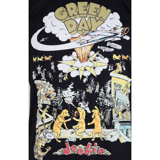 tricou stil metal bărbați Green Day - Black - ROCK OFF, ROCK OFF, Green Day