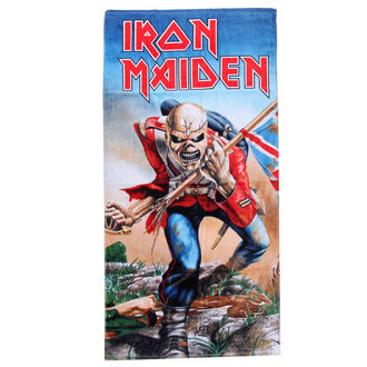 Prosop Iron Maiden The Trooper, Iron Maiden