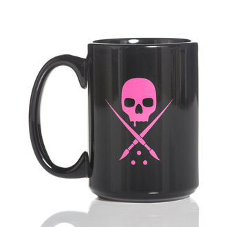 Cană SULLEN - BADGE COFFEE - BLACK / PINK, SULLEN