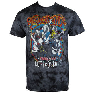 tricou stil metal bărbați Aerosmith - Group Shield - BAILEY, BAILEY, Aerosmith