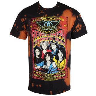 tricou stil metal bărbați Aerosmith - Worldtour - BAILEY, BAILEY, Aerosmith