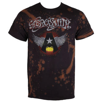 tricou stil metal bărbați Aerosmith - Flying A - BAILEY, BAILEY, Aerosmith