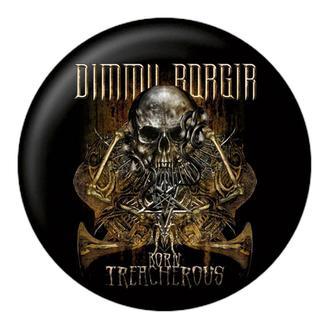 Insignă DIMMU BORGIR - Born treacherous - NUCLEAR BLAST, NUCLEAR BLAST, Dimmu Borgir
