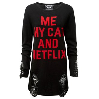 Pulover unisex KILLSTAR - My Cat Distress, KILLSTAR