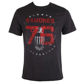tricou stil metal bărbați Ramones - Charcoal - AMPLIFIED, AMPLIFIED, Ramones