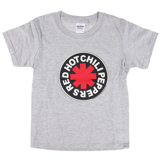 tricou stil metal bărbați copii Red Hot Chili Peppers - Logo in Circle Grey -, Red Hot Chili Peppers