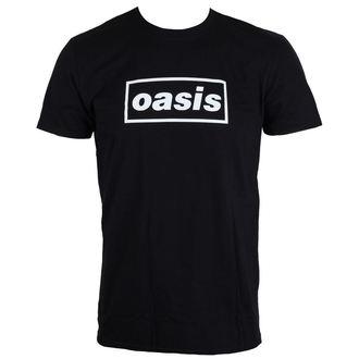 tricou stil metal bărbați Oasis - Black Logo - LIVE NATION, LIVE NATION, Oasis