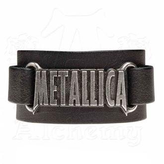 Brăţară Metallica - ALCHEMY GOTHIC - Logo, ALCHEMY GOTHIC, Metallica