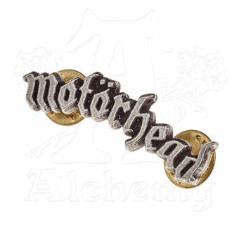 Insignă  Motörhead - ALCHEMY GOTHIC - Logo, ALCHEMY GOTHIC, Motörhead