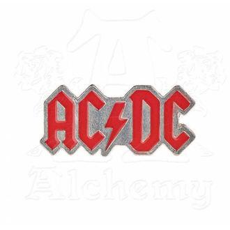 Insignă AC / DC - ALCHEMY GOTHIC - Enamel Logo, ALCHEMY GOTHIC, AC-DC