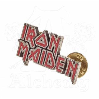 Insignă Iron Maiden - ALCHEMY GOTHIC - Enamel Logo, ALCHEMY GOTHIC, Iron Maiden