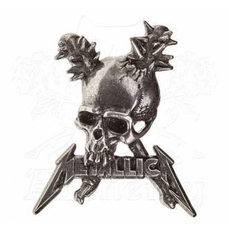 Insignă Metallica - ALCHEMY GOTHIC - Damage, ALCHEMY GOTHIC, Metallica