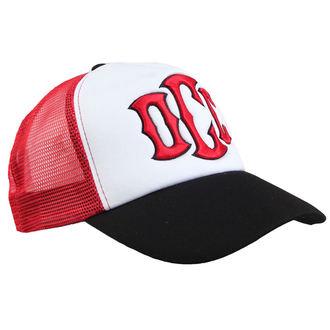 Şapcă ORANGE COUNTY CHOPPERS - Trucker Red Black & White - Motorcycle Logo, ORANGE COUNTY CHOPPERS