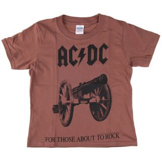 tricou stil metal bărbați copii AC-DC - For Those About To Rock - LOW FREQUENCY, LOW FREQUENCY, AC-DC