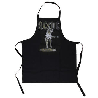 Şorţ AC / DC - Stiff Upper Lip Apron - LOW FREQUENCY, LOW FREQUENCY, AC-DC