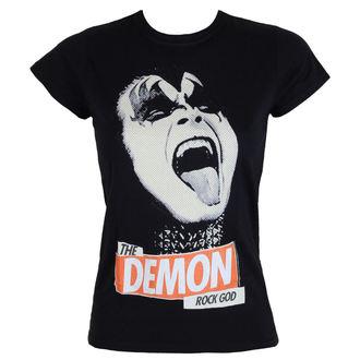 tricou stil metal femei Kiss - Rock God - LOW FREQUENCY, LOW FREQUENCY, Kiss