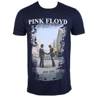 tricou stil metal bărbați Pink Floyd - Burning Man Navy - LOW FREQUENCY, LOW FREQUENCY, Pink Floyd