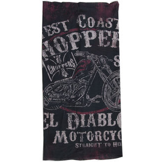 Eşarfă West Coast Choppers - EL DIABLO - NEGRU, West Coast Choppers