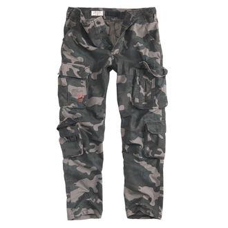 Pantaloni a bărbaţilor SURPLUS - AIRBORNE SLIMMY - NEGRU CAMO, SURPLUS