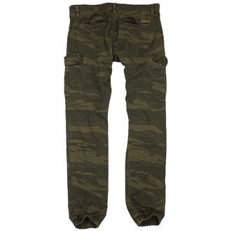 Pantaloni bărbaţi SURPLUS - GREEN-CAMO, SURPLUS
